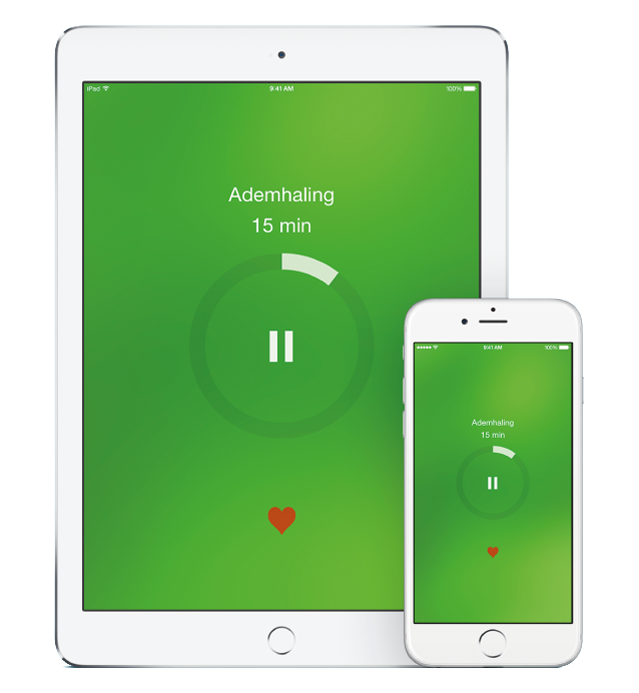mindfulness app op iPhone en iPad